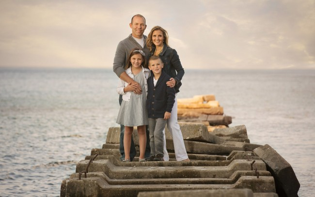 Atwater Beach Milwaukee Wisconsin family and child photographer session