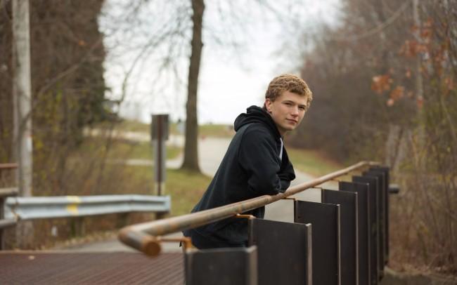 Oconomowoc senior boy photographer high school Wisconsin