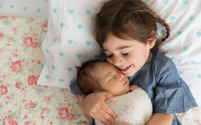 Newborn family lifestyle photography Tosa