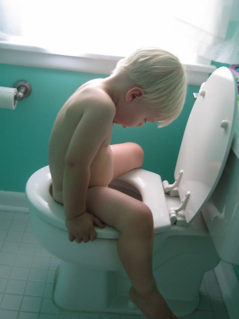 Potty training trick