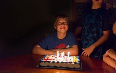 JCP Parenting Hacks:  Birthday Mania