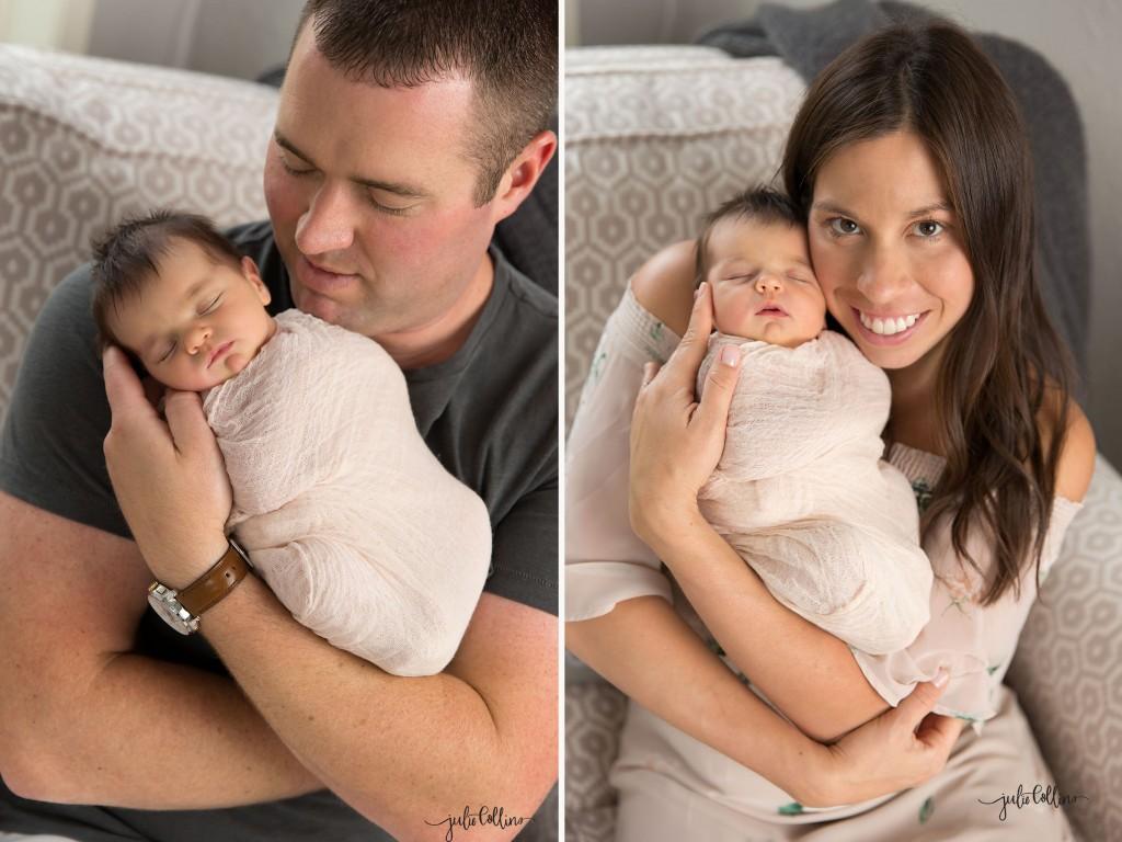 Parent shots poses newborn photography
