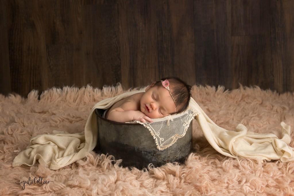 Newborn prop photo Dousman Wisconsin