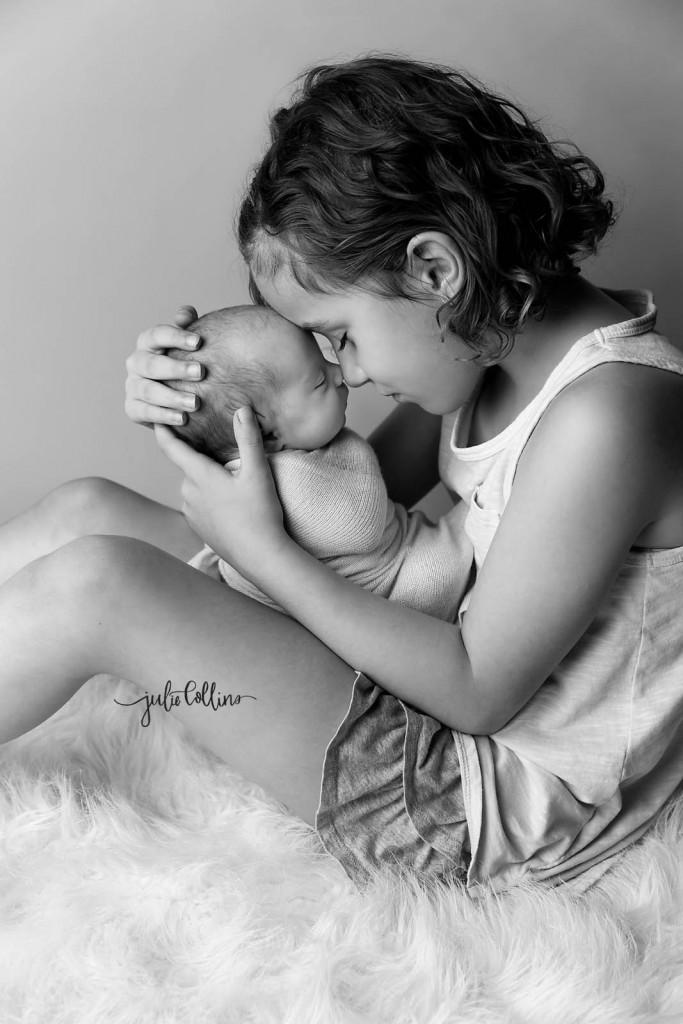 Big sister newborn
