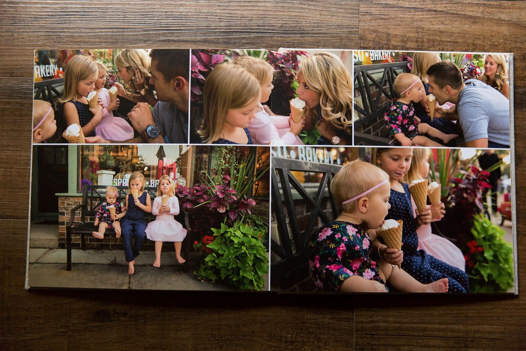 Photo album family session
