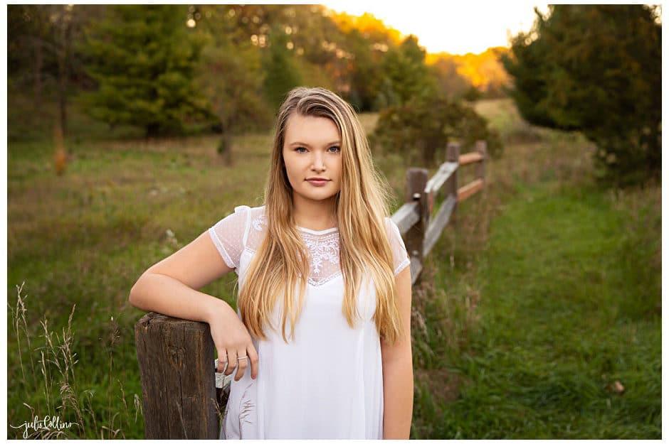 Lake Country Senior Photographer | Jada