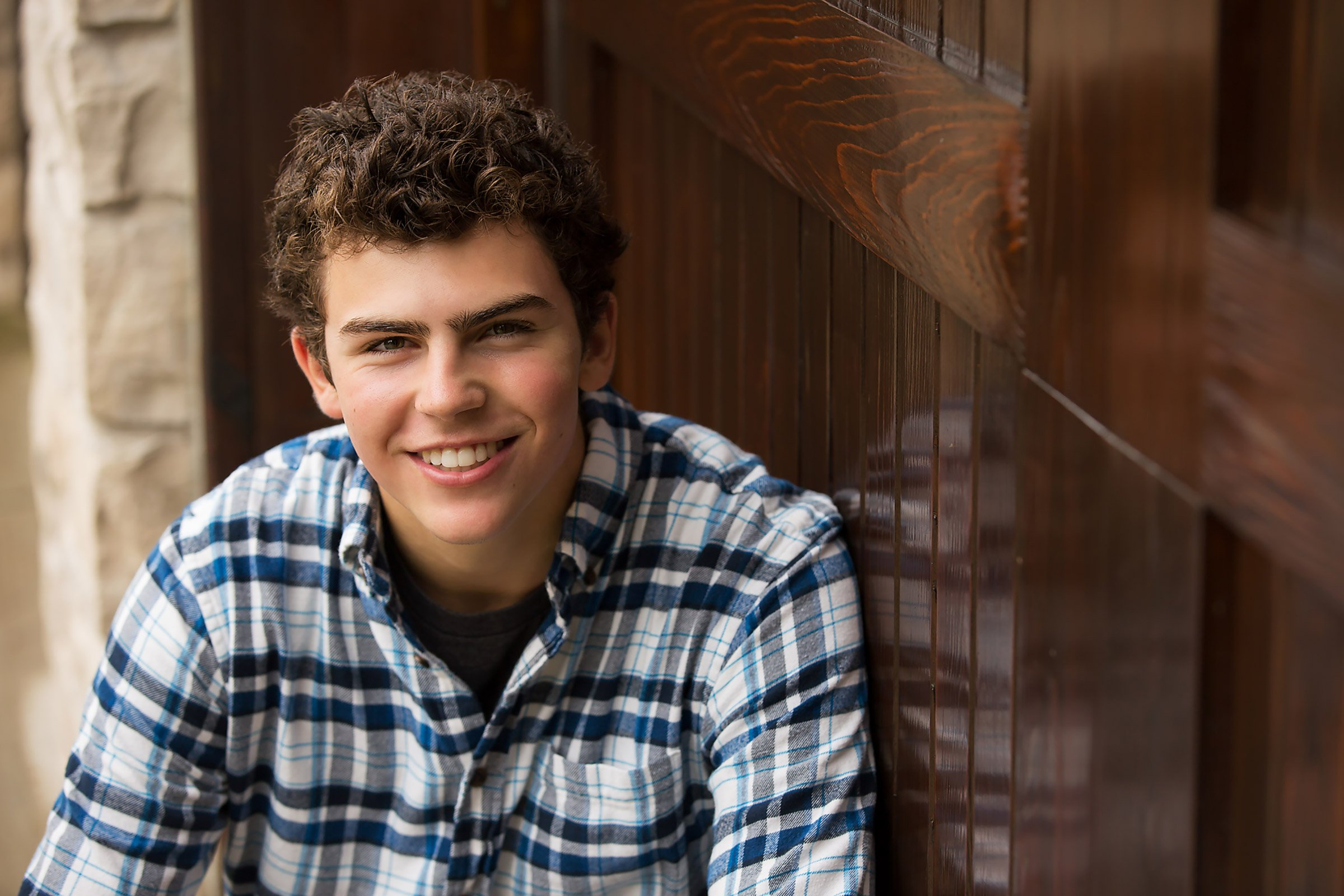 Image of high school senior boy, Seniors-Julie Collins Photography
