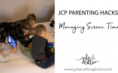 JCP Parenting Hacks | Managing Screen Time