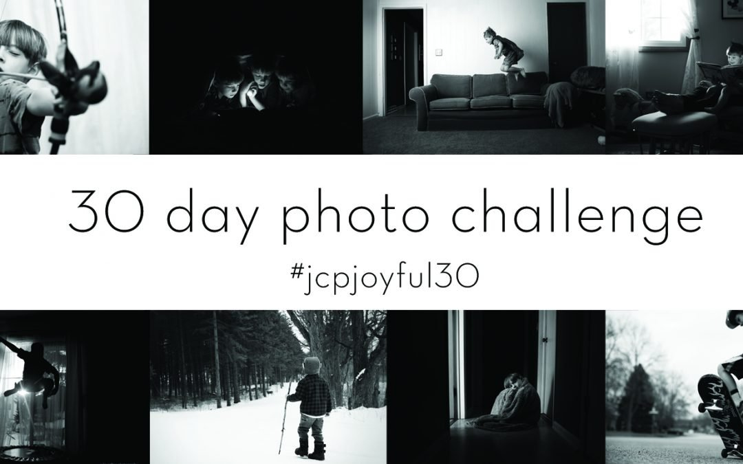 Pictures of children doing everyday things in black and white