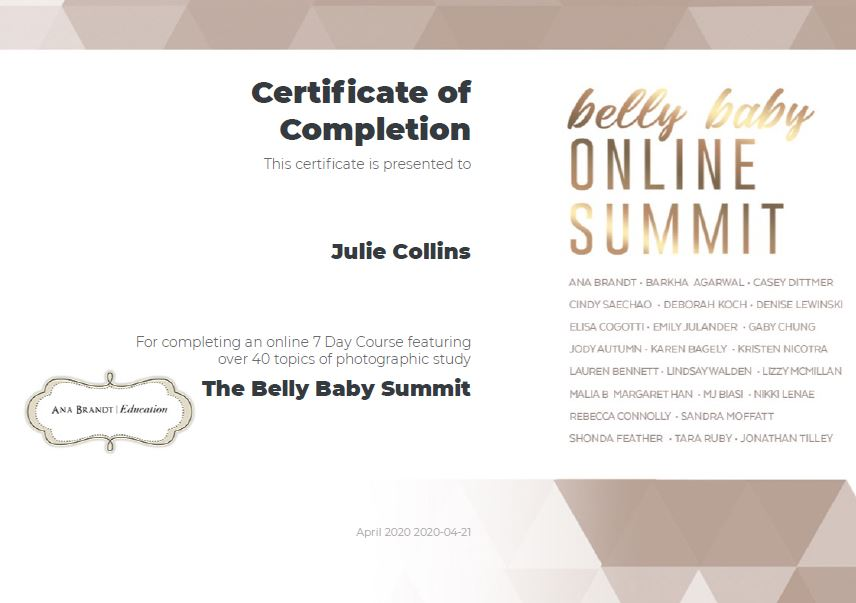 Belly Baby Summit Completion logo