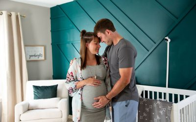 4 Advantages of Having Your Maternity Session in Your Nursery   Meet Baby Bryson