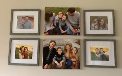 Creating an Heirloom Family Gallery Wall
